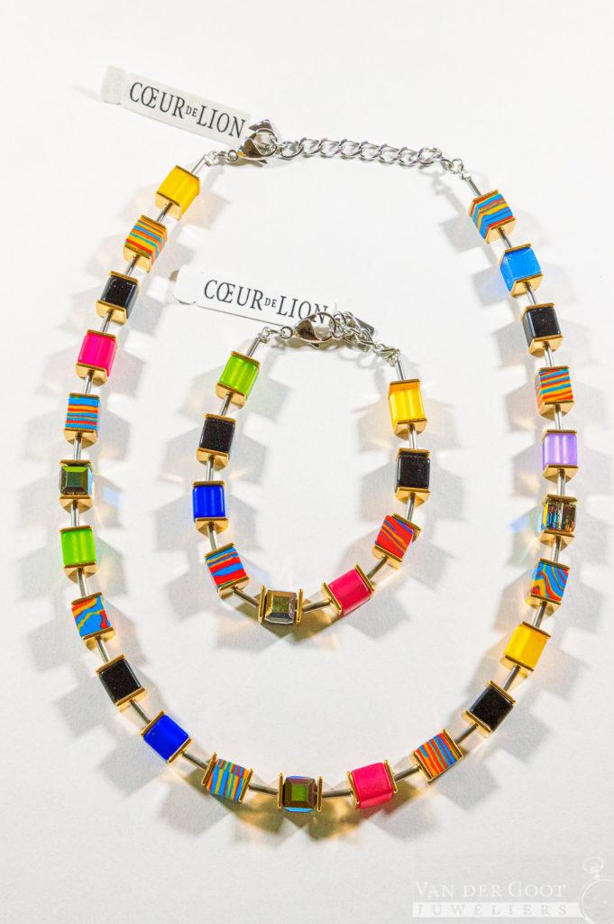 Coeur de Lion set, multicolour, 4747/30-1500  Collier - €169,-   Armband - €89,-