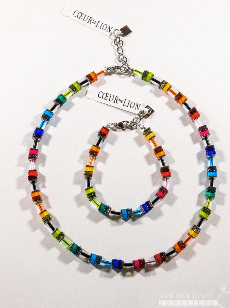Coeur de Lion set, multicolour, 4409-30-1500  Collier - €139,-   Armband - €69,-