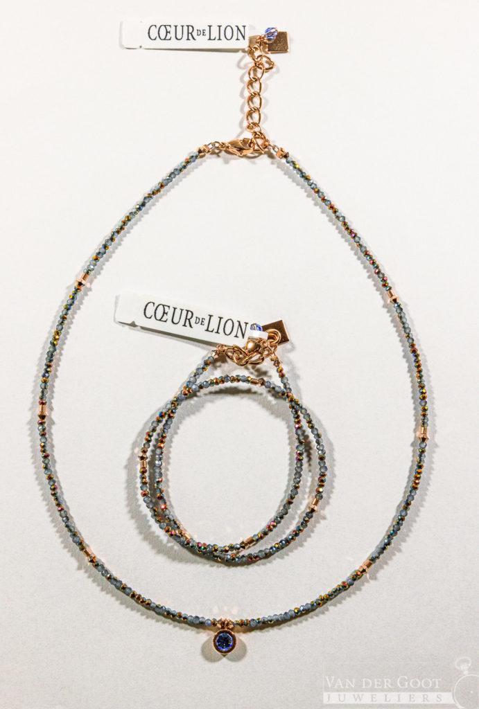 Coeur de Lion set, 5033/30-0720  Collier - €89,-  Armband - €64,-