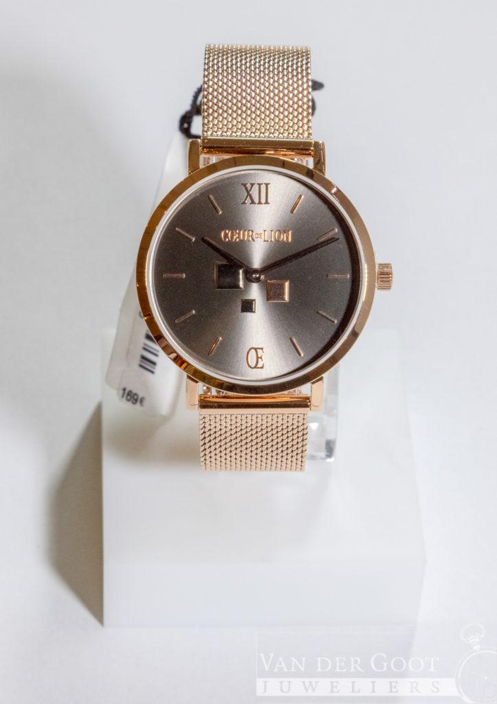 Coeur de Lion horloge staal 7601/70/1636 €169,-