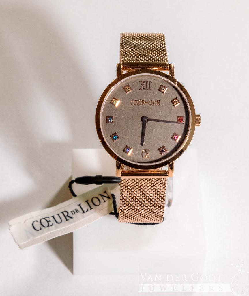 Coeur de Lion horloge staal multicolor, 7611/70-1636  €189,-