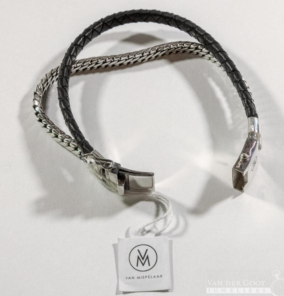 Van Mispelaar Armband 205026 - Duo L small  Maat L  €239,95