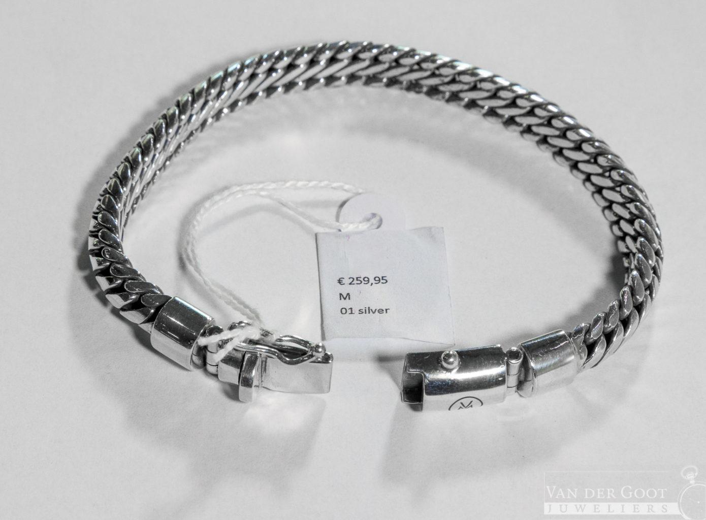 Van Mispelaar Armband 201009 - Lombok Maat L  €259,95
