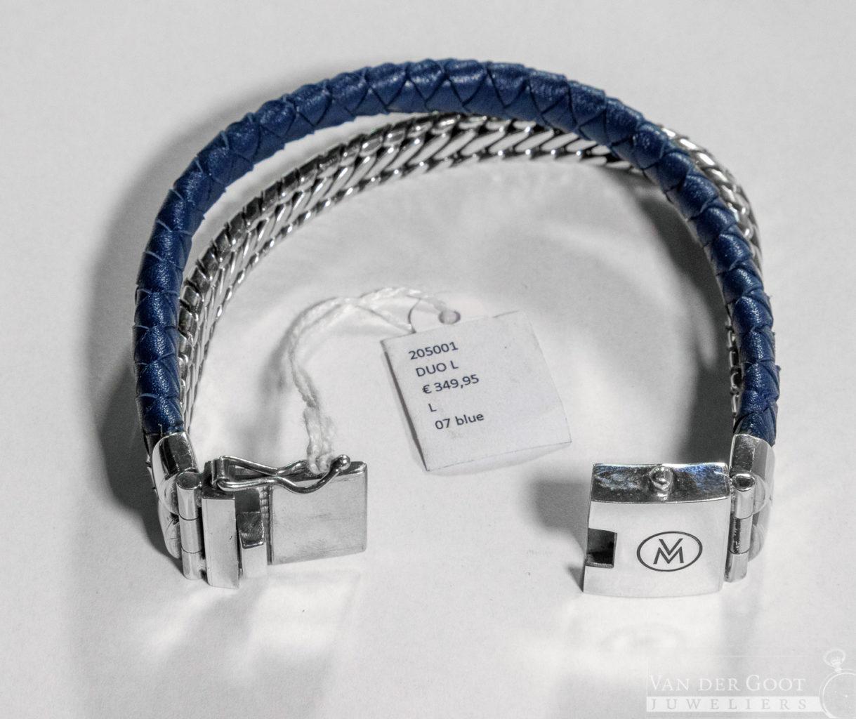 Van Mispelaar Armband 205001 - Duo L Maat L  €349,95