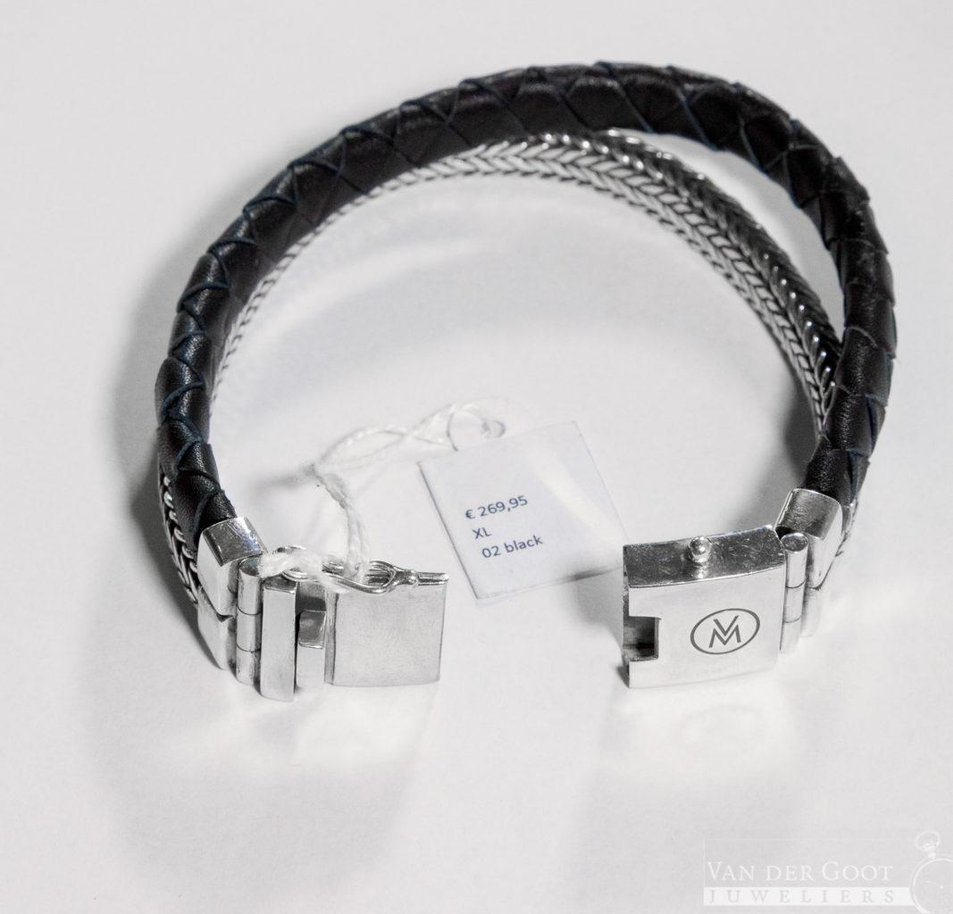 Van Mispelaar Armband 205002 - Duo H  Maat XL  €269,95