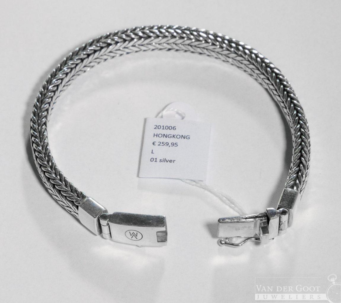 Van Mispelaar Armband 201006 - Hongkong Maat L  €259,95