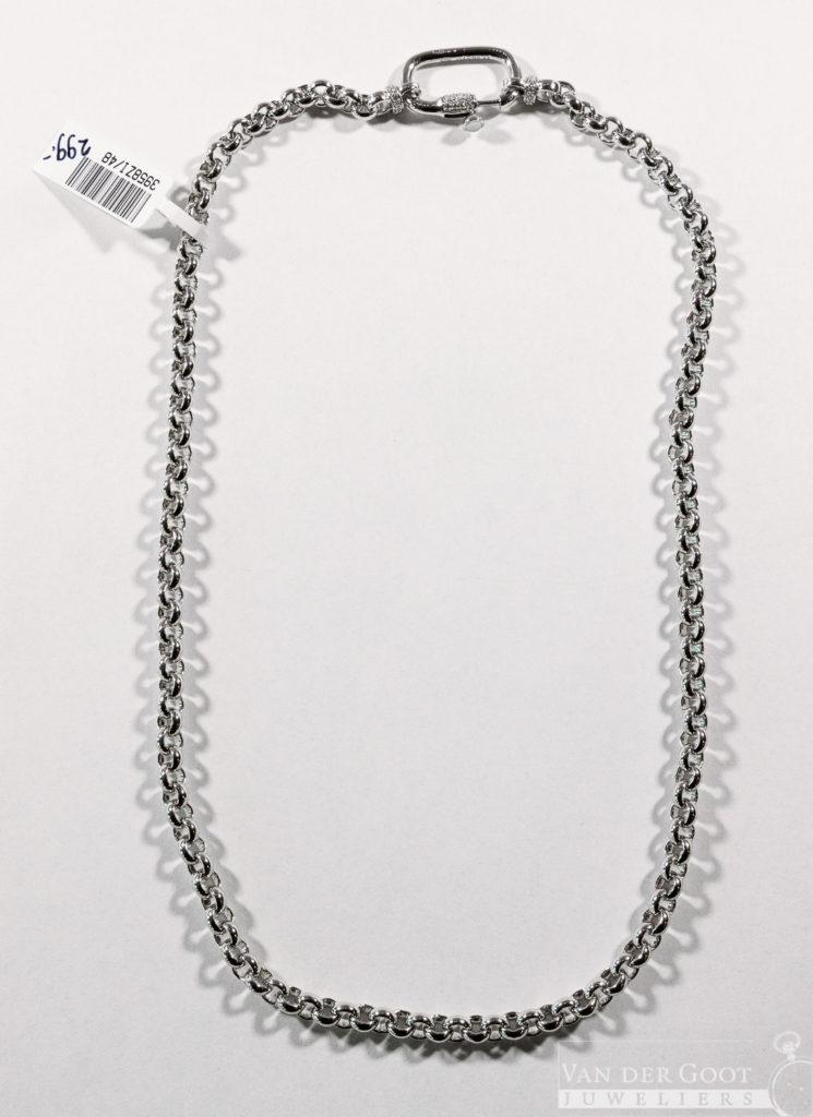 Ti Sento Collier zilver -  3958ZI/48  €299,-