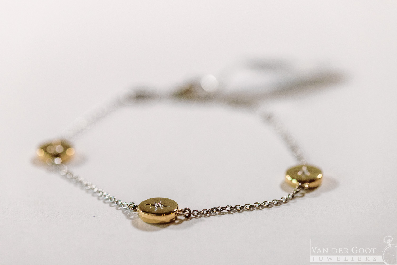 Ti Sento Armband Verguld - 2941ZY  16 - 20 cm  €129,-