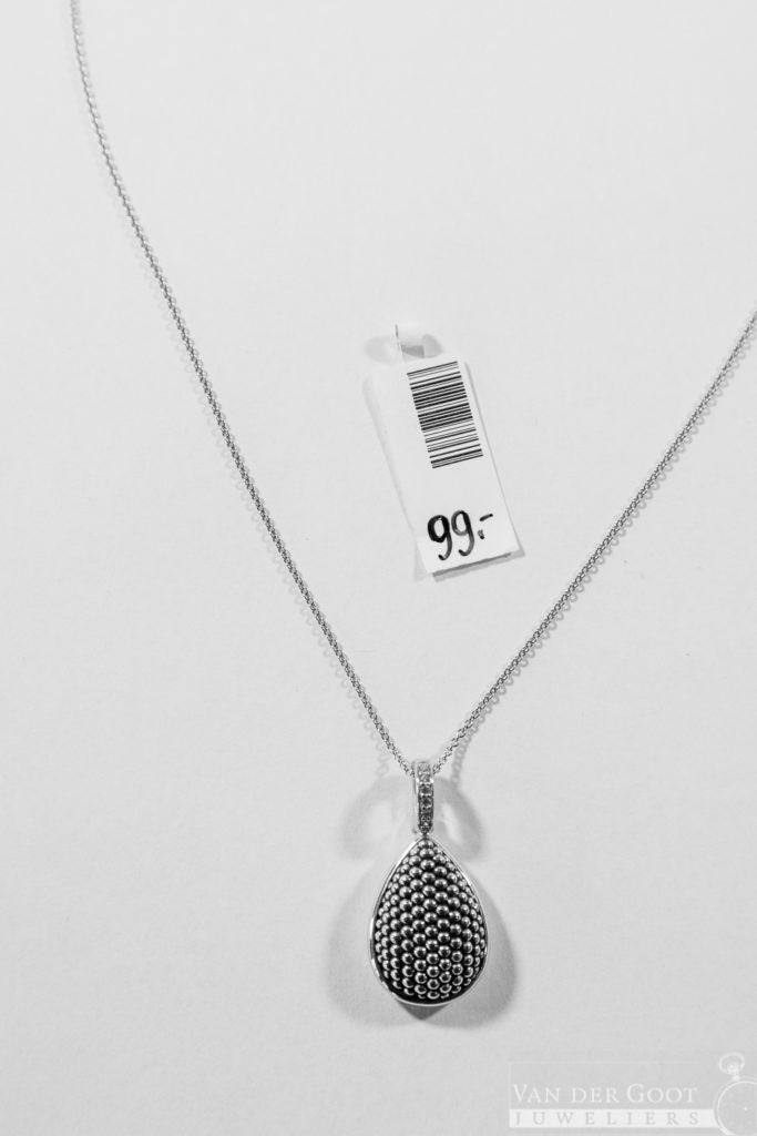 Ti Sento Collier zilver - 6757SB  45 cm  €99,-